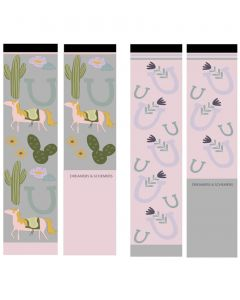 Dreamers and Schemers Knit 2 Pack Cotton Boot Socks