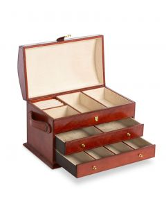 Park Hill Kennedy Leather Jewerly Box