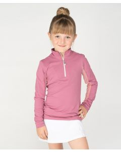 EIS Elements Kids Leadline Performance Stand Up Collar Cool Shirt