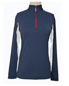 EIS Elements Ladies Performance Stand Up Collar USA Cool Shirt