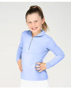 EIS Elements Youth Performance Stand Up Collar Cool Shirt