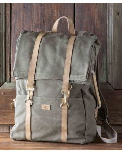 Canvas Postal Pouch Backpack