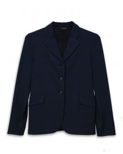 Girls Grand Prix Classic Jersey Show Coat with Sport Piping