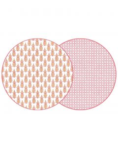 Holly Stuart Round Two Sided RAJ & JAIPUR Placemats