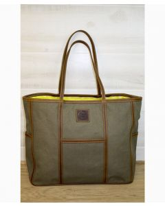 The Traveler Stowaway Canvas Tote