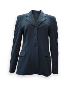 Grand Prix Classic Jersey Show Coat with Piping