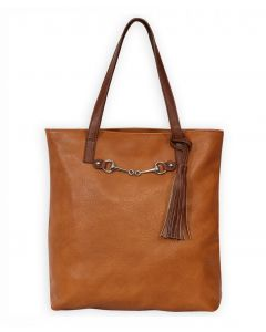 Snaffle Bit with Tassle Tote