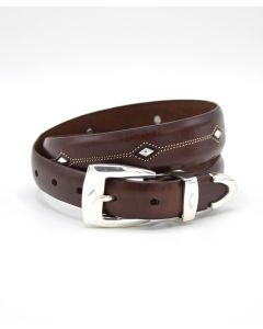 Brighton Denver Diamond Concho Belt