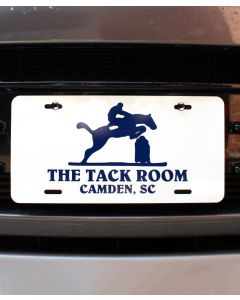 Tack Room License Plate