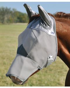 Cashel Crusader Cool Fly Mask Long Nose w/ Ears