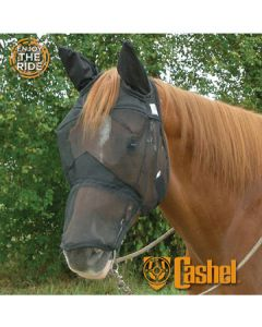Cashel Quiet Ride Fly Mask Long with Ears