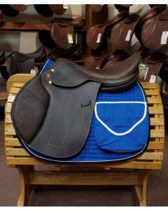 Trail Riding Cotton Quilted Saddle Pad w/ Pockets